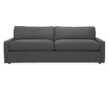 Room & Board Easton Sleeper Sofa in Dawson Charcoal