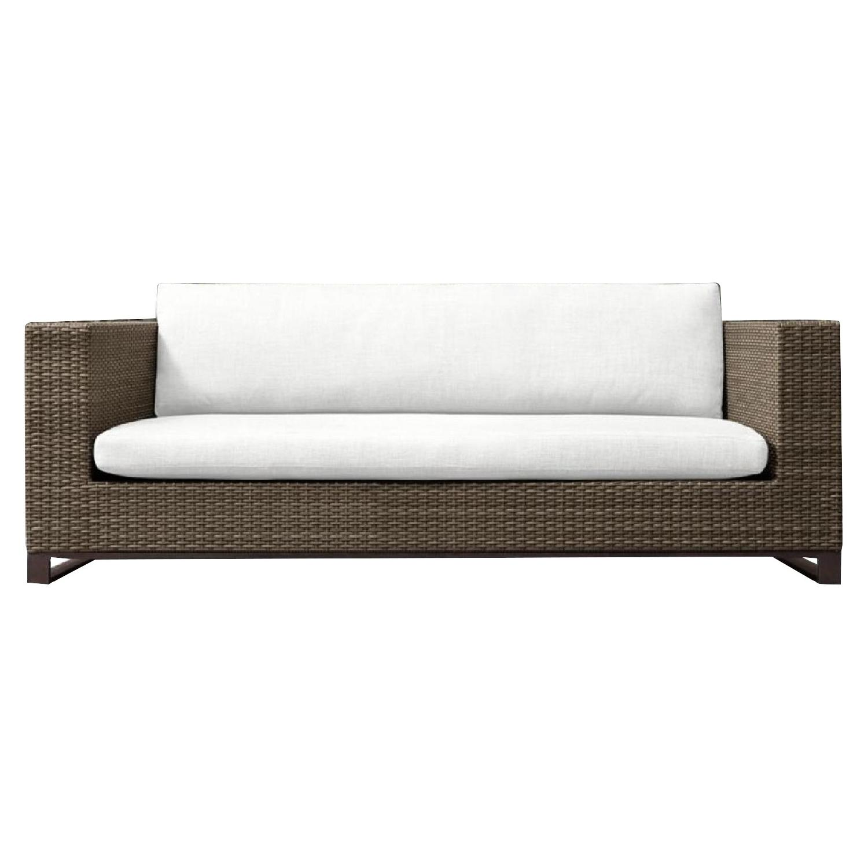 Restoration Hardware Outdoor/Patio Sofa w/ Cushion