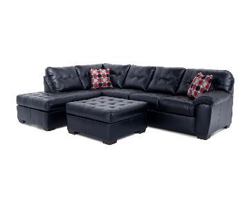 Bob's Mercury 3 Piece Sectional Sofa