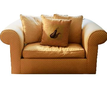 Convertible Oversized Chair & Matching Ottoman