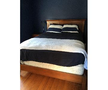 Kincaid Gathering's Shaker Style Queen Bed Frame