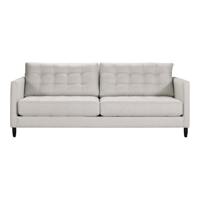 Mid Century Modern Grey Couch