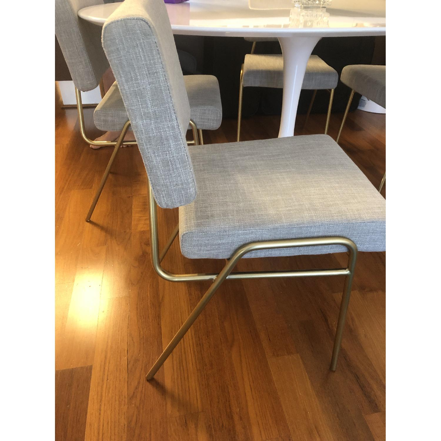West Elm Wire Frame Dining Chairs-3