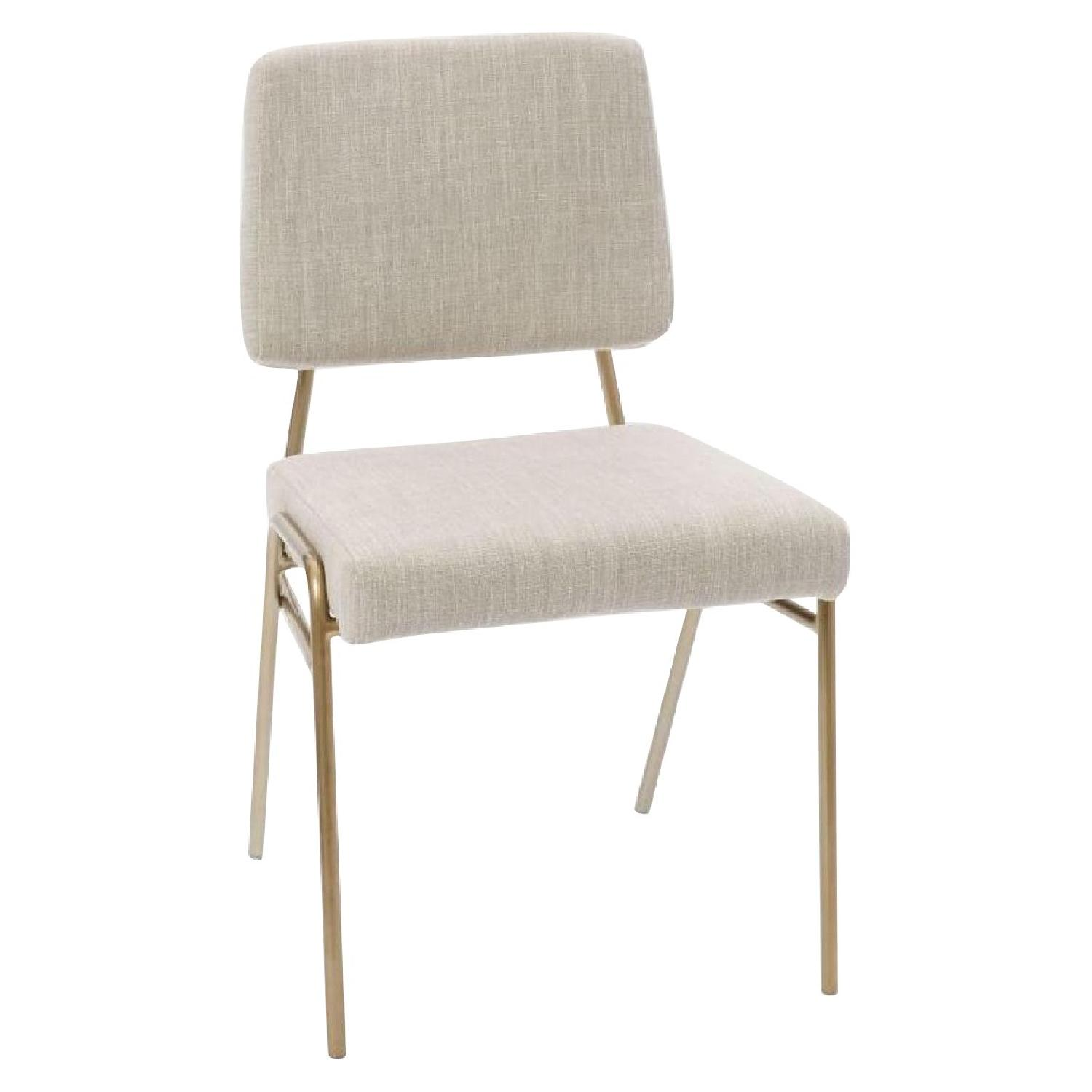 West Elm Wire Frame Dining Chairs