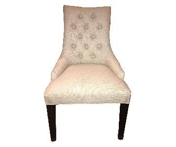 Restoration Hardware Martine Upholstered Dining Chairs