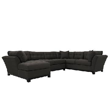 Raymour & Flanigan Metropolis 3-Piece Sectional Sofa