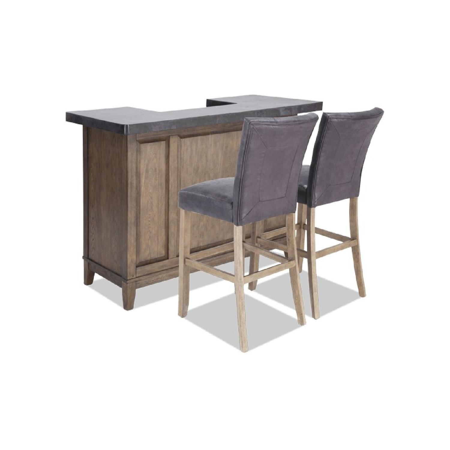 Bob's High Top Expandable Bar Table w/ 2 Chairs