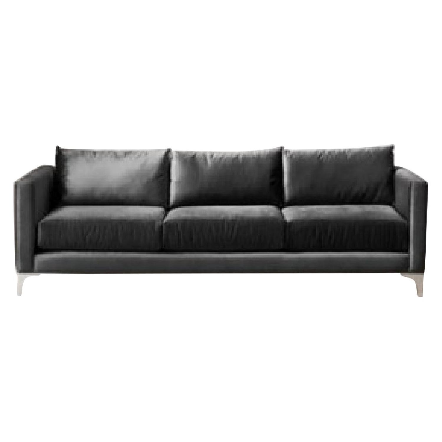 Urban Outfitters Chamberlin Leather Sofa