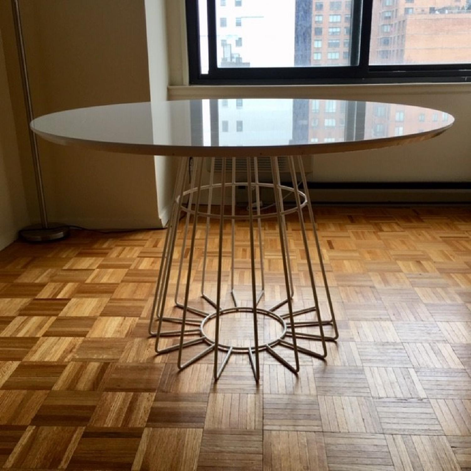 CB2 Compass Dining Table-0