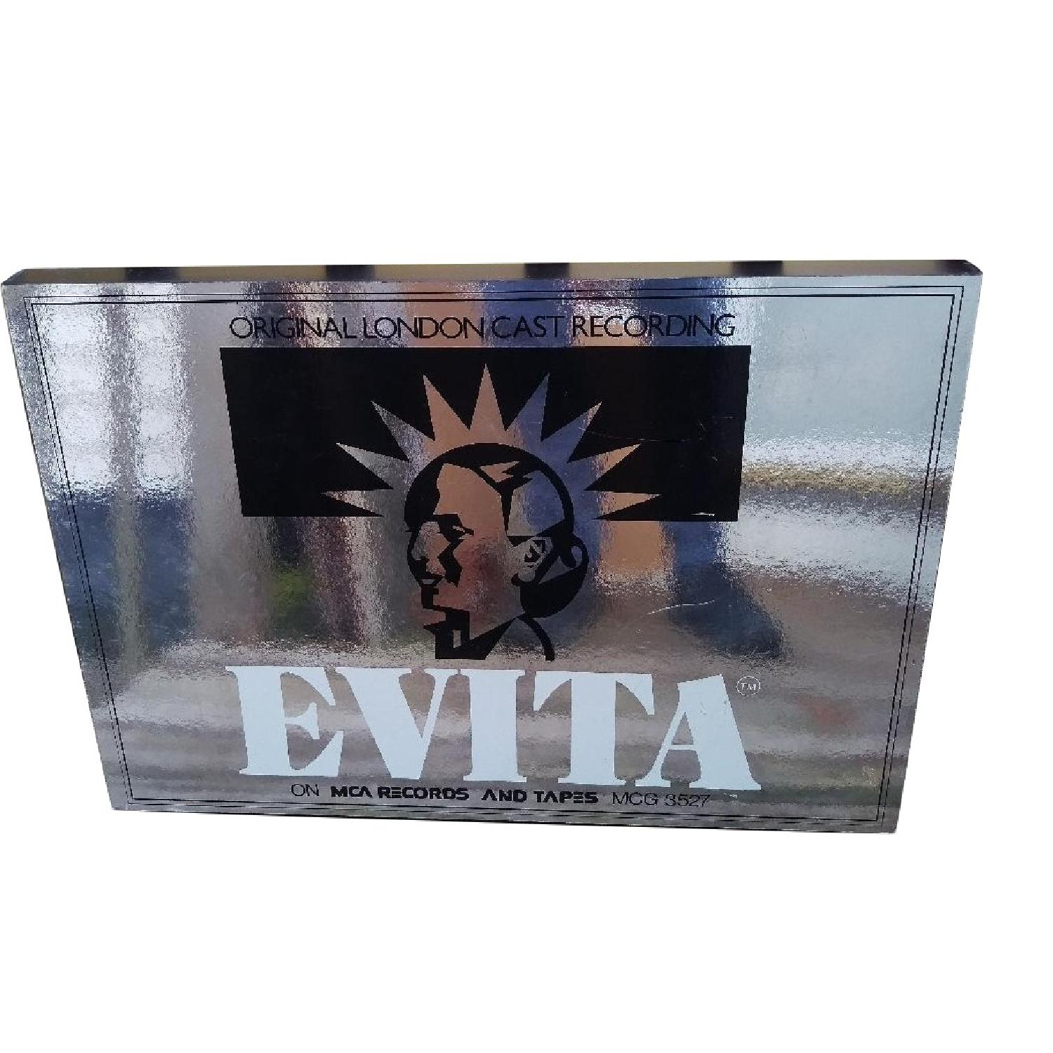 1970s Wood Evita MCA Records London Cast Store Sign