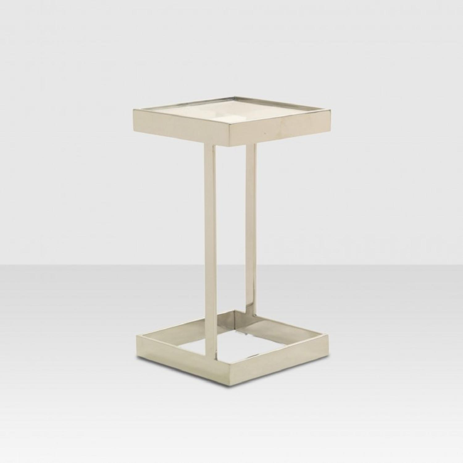 Mitchell Gold + Bob Williams Dax Gold Square Pull up Table-0