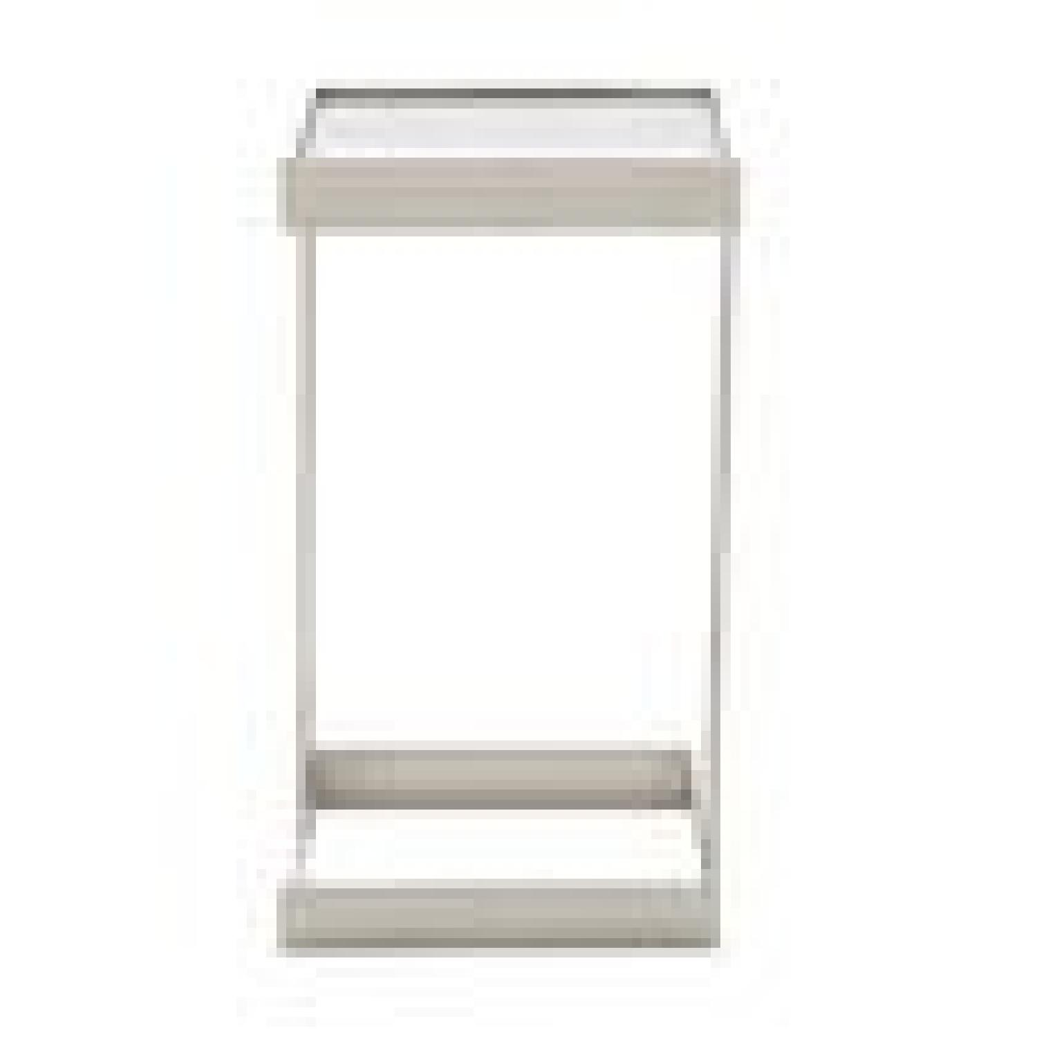 Mitchell Gold + Bob Williams Dax Gold Square Pull up Table-1