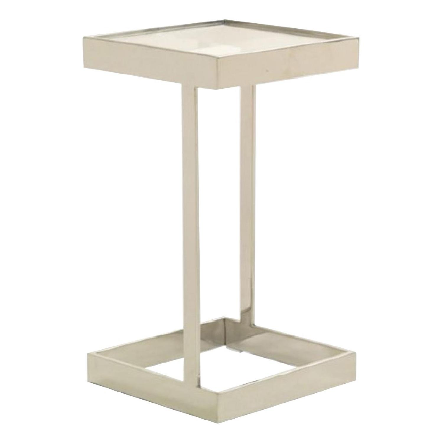 Mitchell Gold + Bob Williams Dax Gold Square Pull up Table