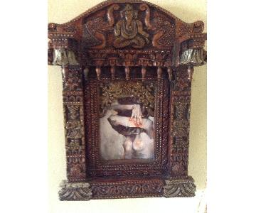 Hand Carved South East Asian Wall Art