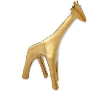 Global Views Giraffe Sculpture