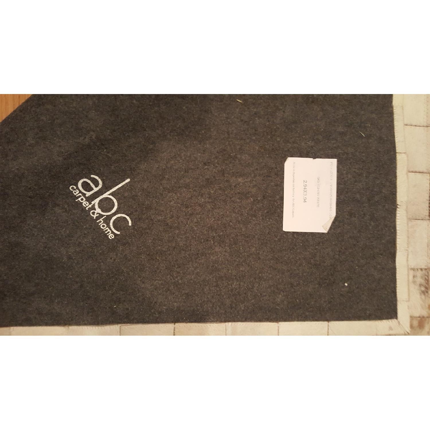 ABC Carpet & Home Cowhide Patchwork Rug-5