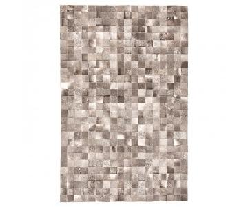 ABC Carpet & Home Cowhide Patchwork Rug
