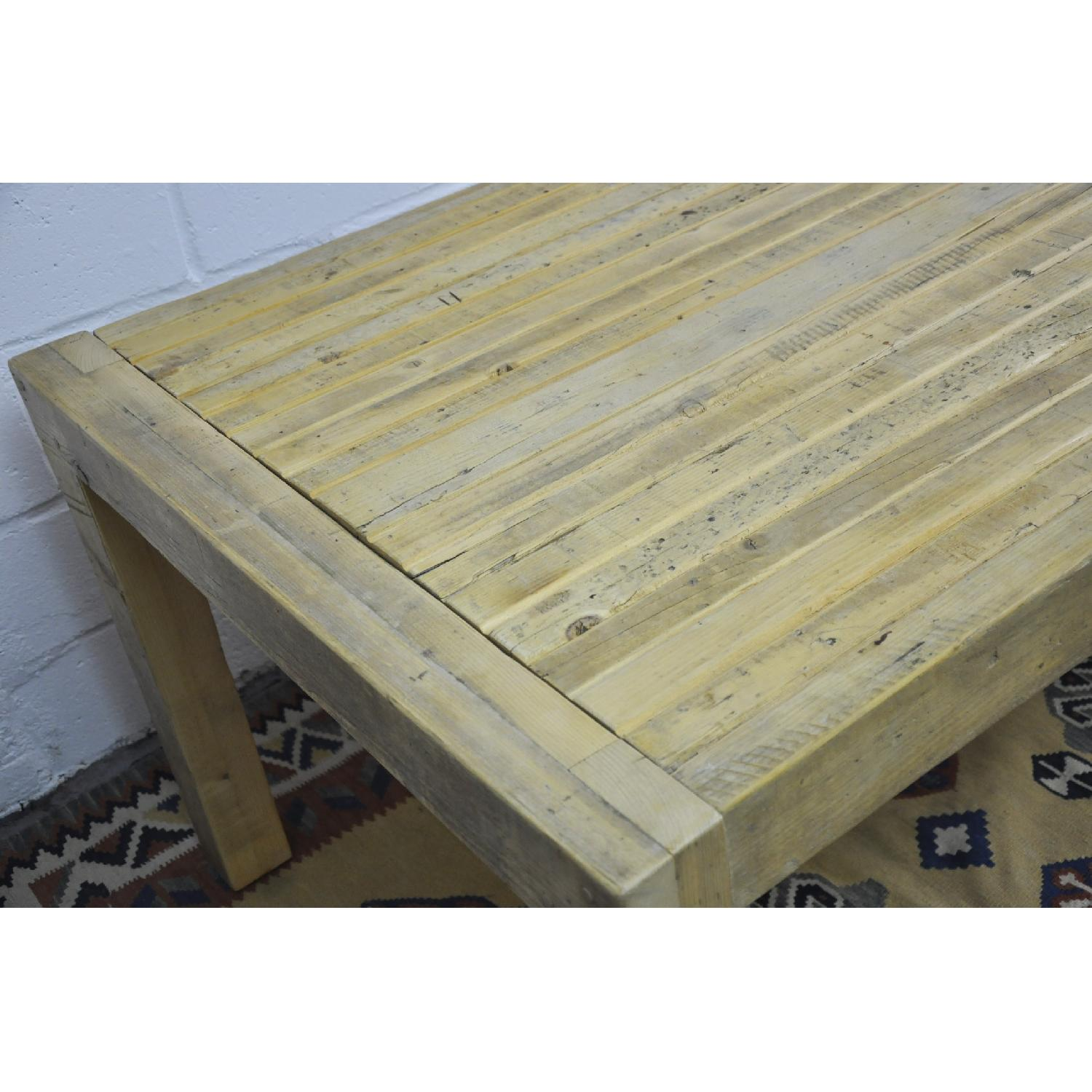 Contemporary Rustic Reclaimed Salvaged Wood Dining Table-6