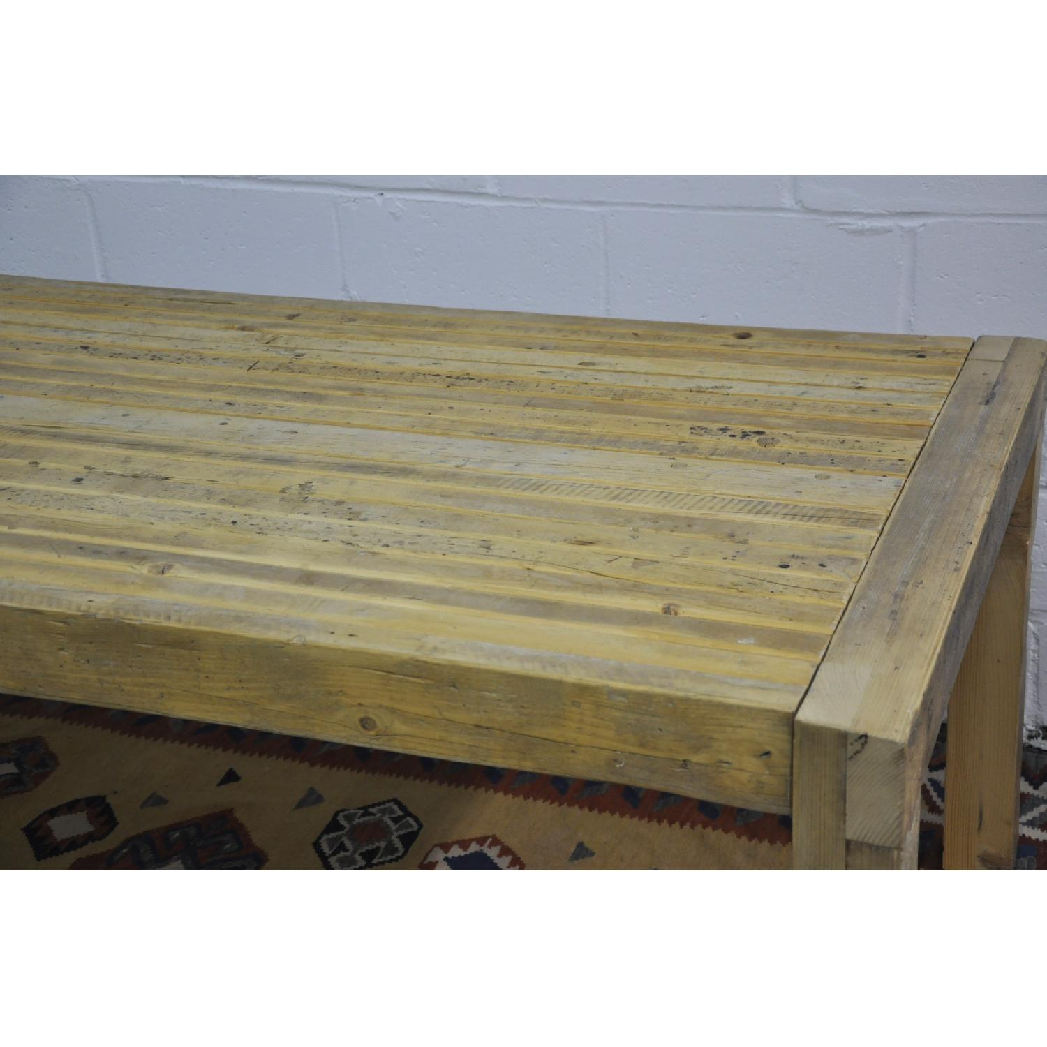 Contemporary Rustic Reclaimed Salvaged Wood Dining Table-8