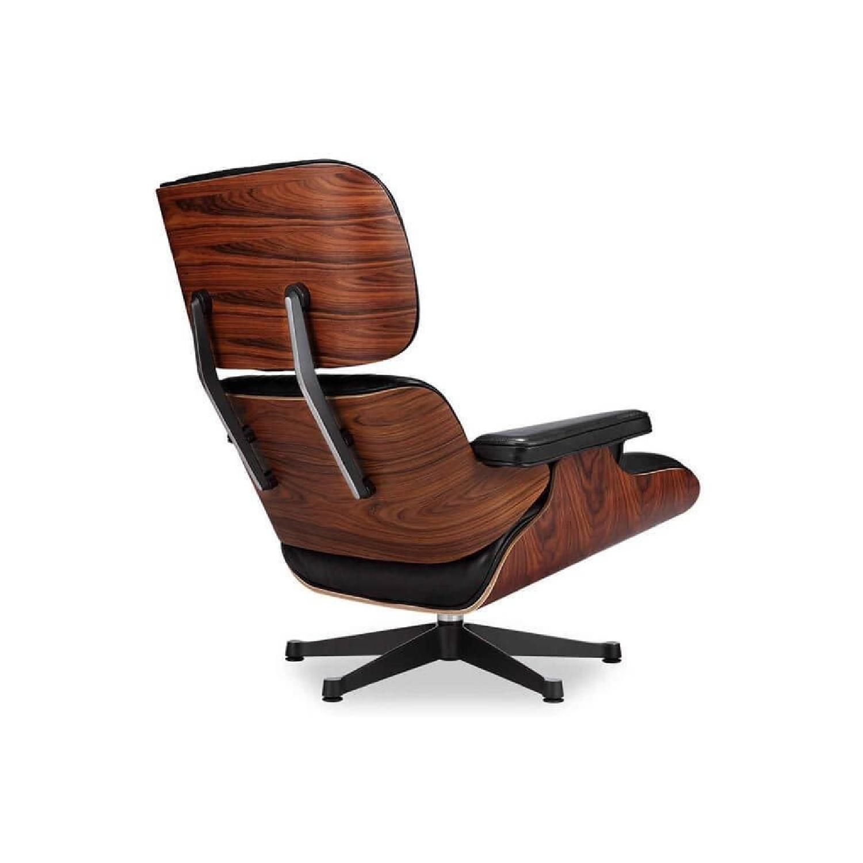 Manhattan Home Design Classic Lounge Chair Replica in Black - image-2