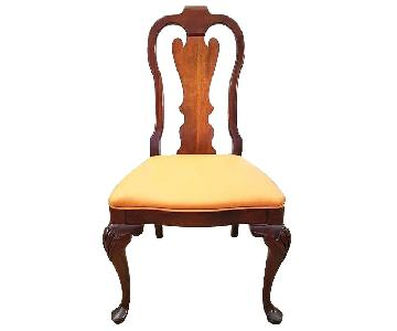 Antique French Chippendale Accent Chair