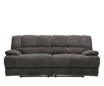 Raymour & Flanigan Daniels Reclining Sofa