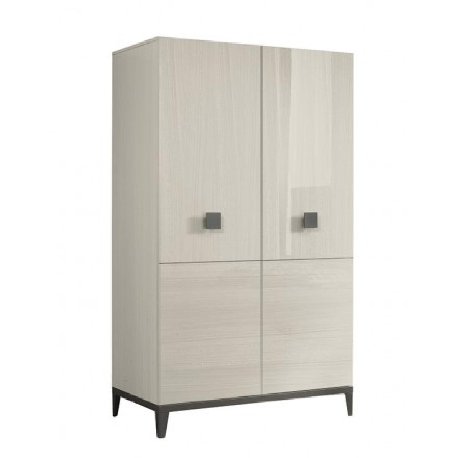 ALF Italia Mont Blanc Collection 2 Swinging Door Wardrobe