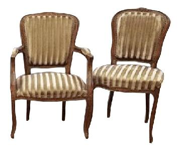 French Antique Louis Accent/Dining Chairs