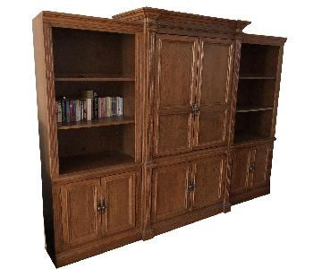 Solid Wood 3 Piece Entertainment Center