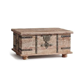 Pottery Barn Kaplan Trunk/Coffee Table