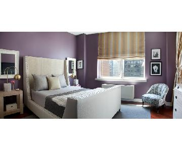 S.H.O Shine Custom Queen Size Upholstered Bed