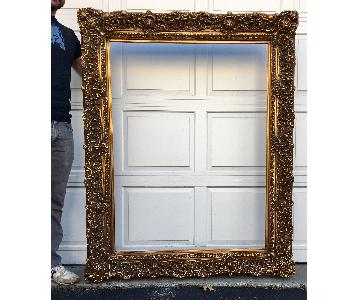 Antique-Style Large-Format Picture Frame