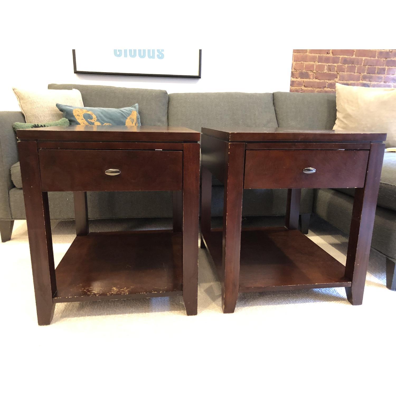 Crate & Barrel Side Tables