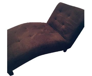 Macy's Tufted Chaise Lounge/Daybed