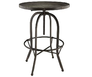 Modway Sylvan Bar Table w/ 2 Restoration Hardware Chairs