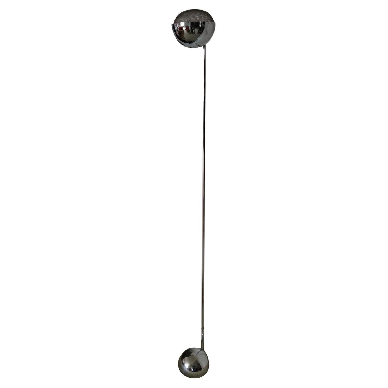 Modern Chrome Lamp