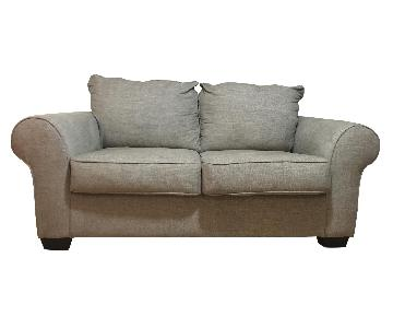 Ashley Beige Loveseat