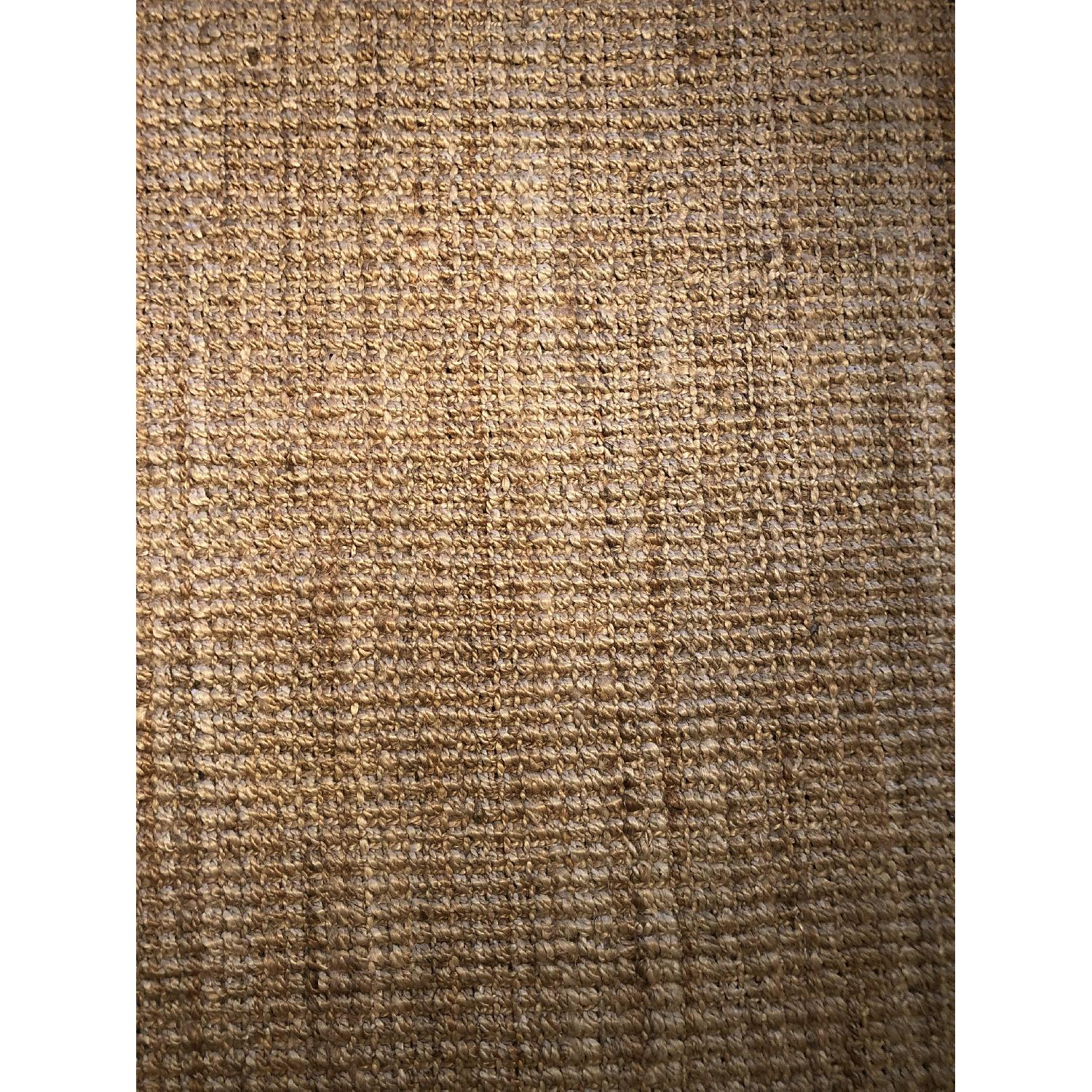 West Elm Jute Boucle Rug in Flax-3