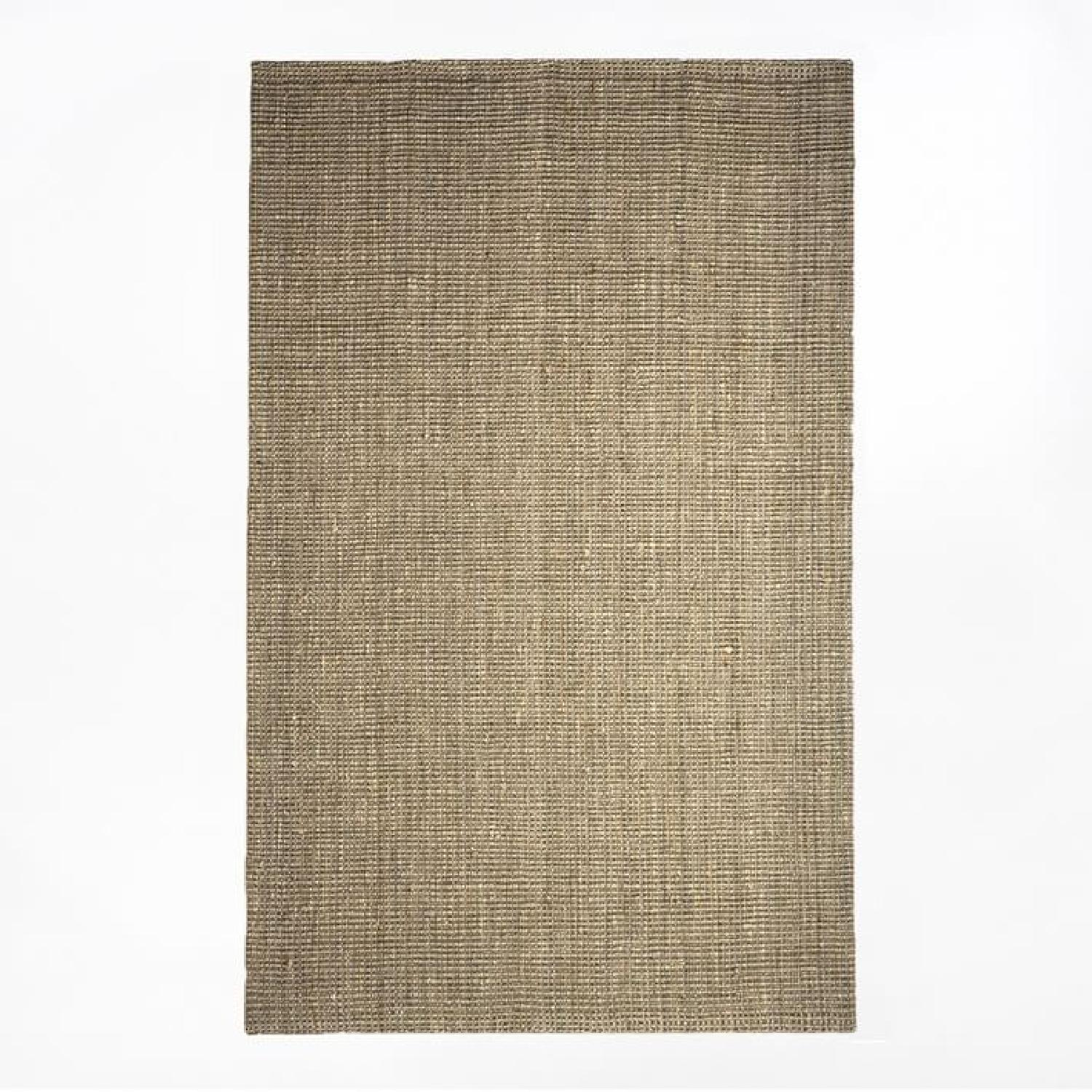West Elm Jute Boucle Rug in Flax-4