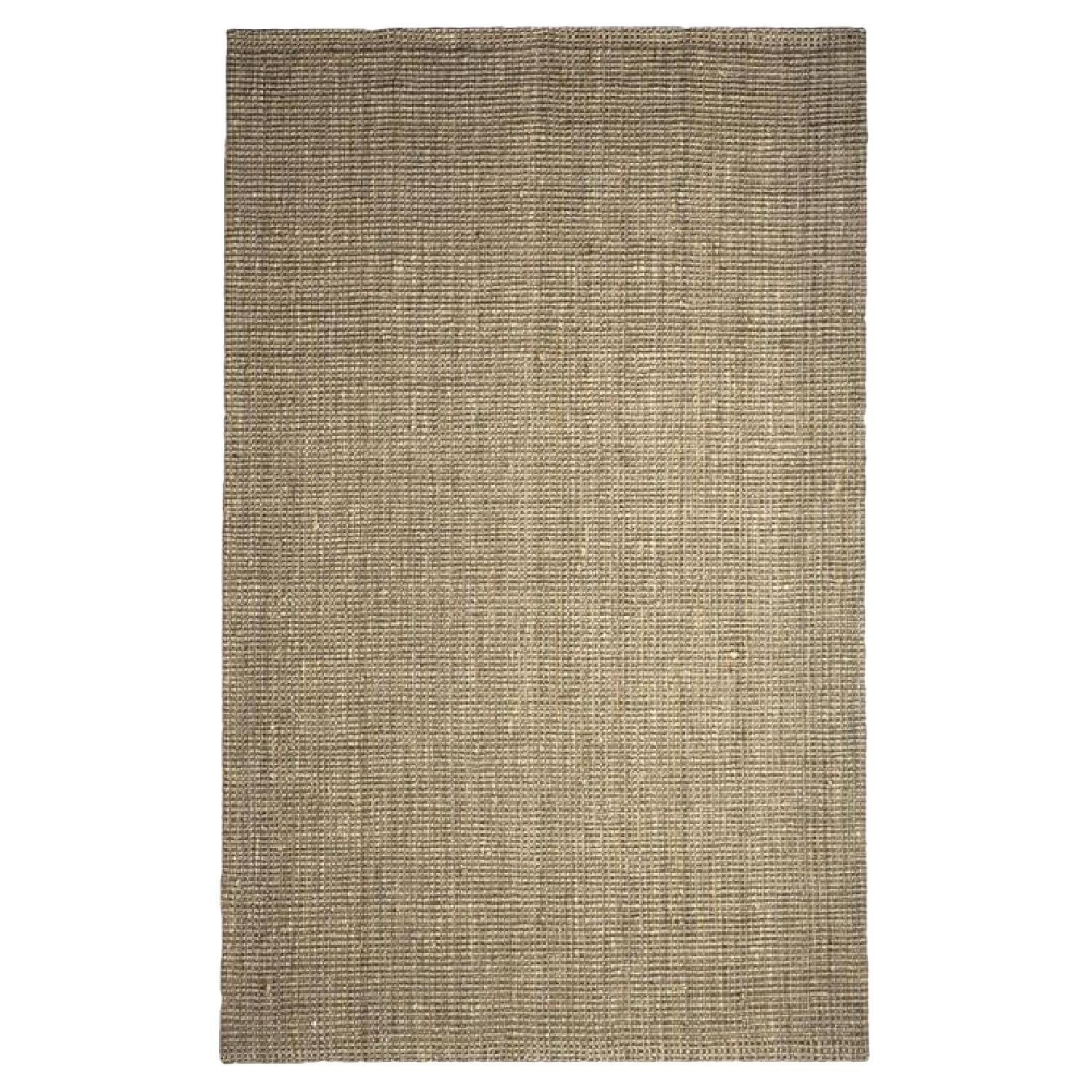 West Elm Jute Boucle Rug in Flax