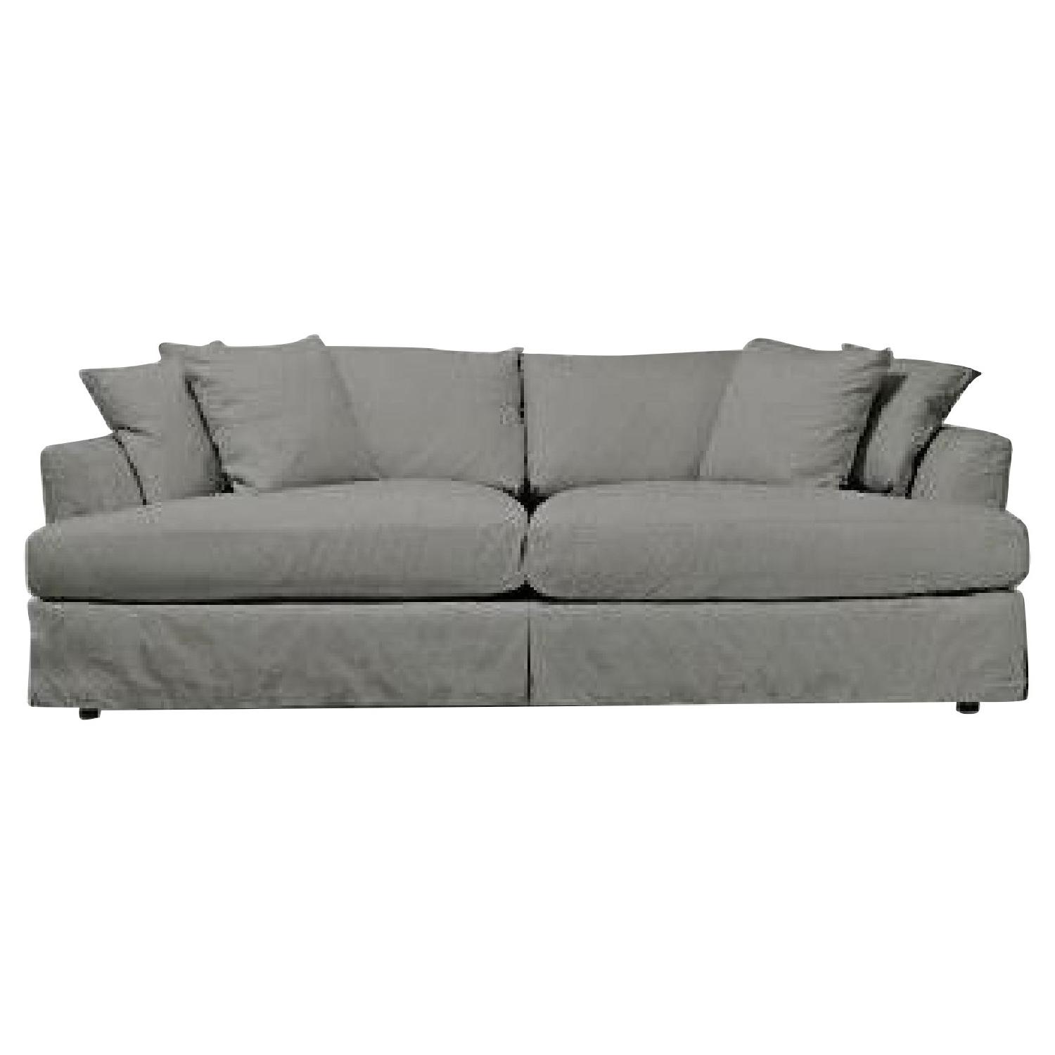 ABC Carpet & Home Cobble Hill Sofa in Gray Linen