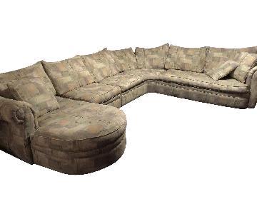 Rowe Furniture 5 Piece Sleeper Sectional Sofa