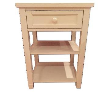 Pottery Barn Teen Bedside Table
