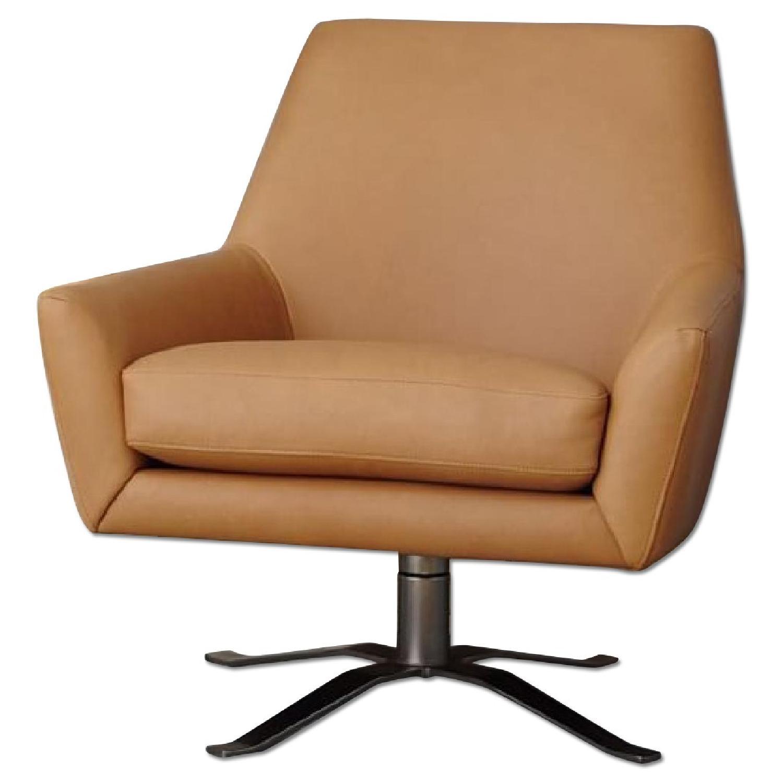 West Elm Niels Upholstered Wing Chair Aptdeco