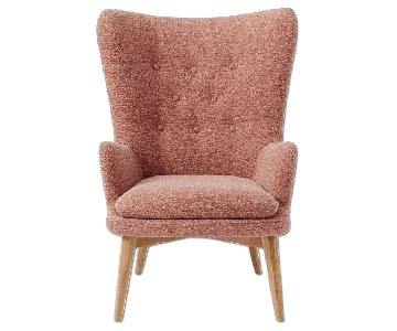 West Elm Niels Upholstered Wing Chair