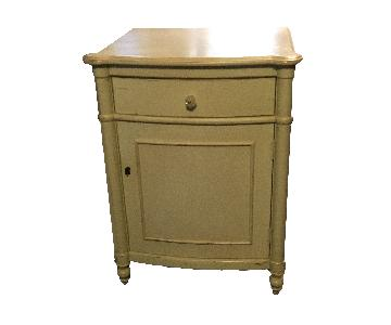 Custom French Style Distressed Nightstand