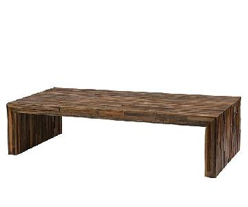 Zin Home Handcrafted Salvaged Wood Coffee Table