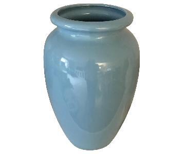 Wisteria Blue Ceramic Urn