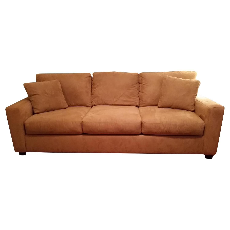 Attractive Macys Portifino Microsuede Queen Sleeper Sofa ...