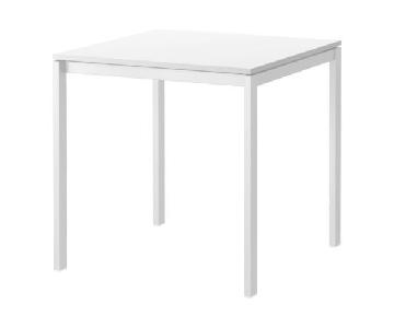 Ikea Melltorp White Dining Table